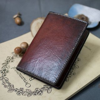Leather handmade leather passport holder Passport Holder