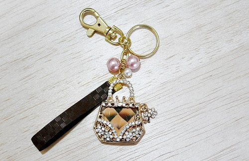 Rhinestone Accessories * handbag * // key ring ornaments - Limited X1-