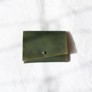 Business card holder / fern ming-pian-jia-jue