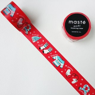 maste and paper tape [2015 Xmas warm knitwear (MST-MKT113-B)]
