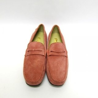 Fort Tony Wang handmade leather shoes (female) [matte / rubber-soled / pink]