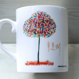 [Bone China Mug] Lucky tree (Custom)