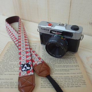 HiDots together to travel the camera strap (Japanese lozenge * Act bucket)