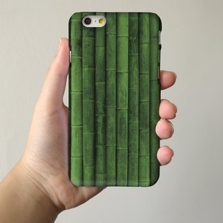 Green Bamboo 3D Full Wrap Phone Case, available for  iPhone 7, iPhone 7 Plus, iPhone 6s, iPhone 6s Plus, iPhone 5/5s, iPhone 5c, iPhone 4/4s, Samsung Galaxy S7, S7 Edge, S6 Edge Plus, S6, S6 Edge, S5 S4 S3  Samsung Galaxy Note 5, Note 4, Note 3,  Note 2