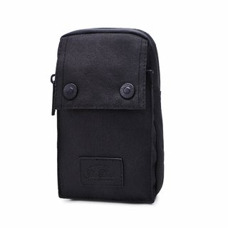 [THE DUDE] Darter Lightweight Pocket Waist Bag (Black)