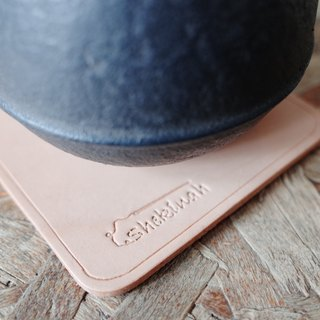 Shekinah Handmade Leather - Simple Coaster Single Entry
