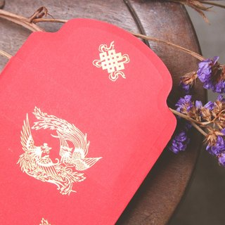Red Envelope/ Gold Stamping in Phoenix / Big Size