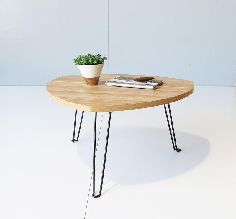 HO MOOD 解構系列—御飯糰 摺疊桌 仿木紋手感限量版。