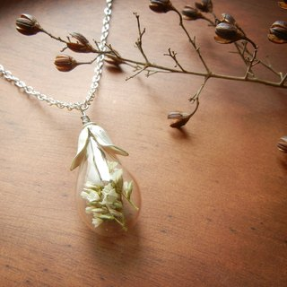 *coucoubird*leaf cover water drop glass ball - white crystal flower