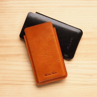 4.7-inch phone case Light Brown / Black