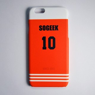 SO GEEK phone shell design brand THE JERSEY GEEK jersey back number Customized paragraph 002