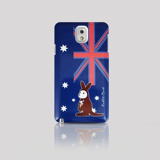 (Rabbit Mint) Mint Rabbit Phone Case - Bunny Love Travel Series - Australia Samsung Note 3 (P00054)