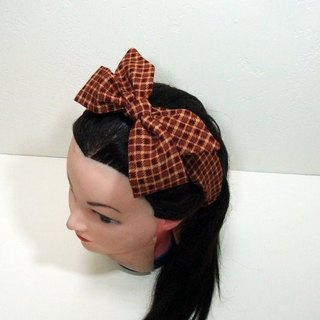 Self-tie bow headband
