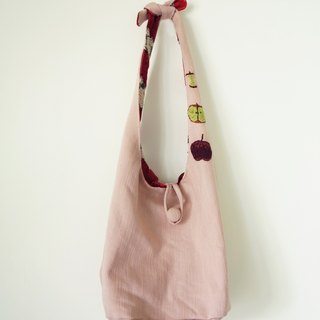 Apple bag / MUDO MOTTO hand-made cloth