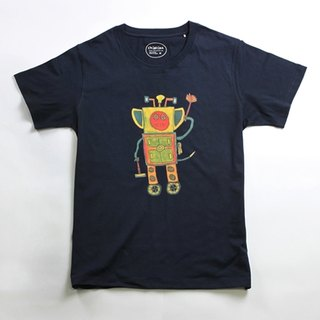 Cotton Handmade T-Shirt Men's (Family Pack) - childlike Gift Robot