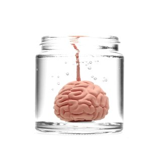 Brainfart55 formalin series fragrance candle - color Brain