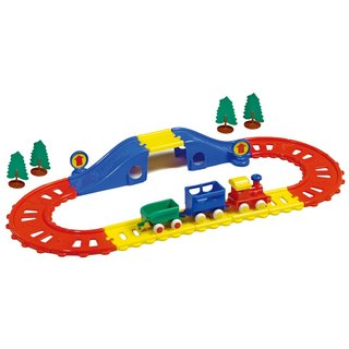VIKINGTOYS Swedish Virgin Train Track Group