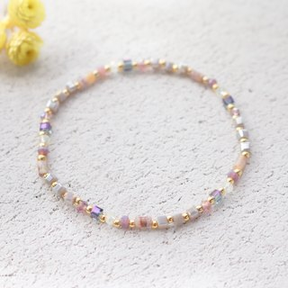 Purple jade bracelet 0645-shining