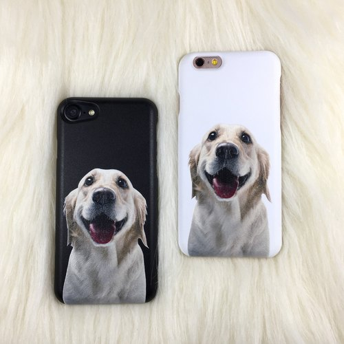 Mother's Day gift (dog mobile phone shell I am very jealous) iPhone 8 Plus mobile phone shell