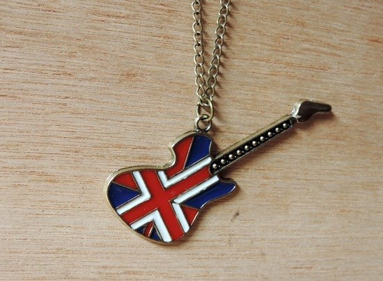 British style guitar style necklace ‧ ‧ gift