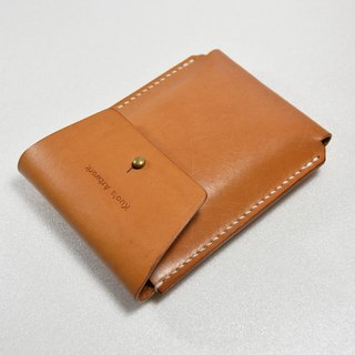 【kuo's artwork】 Hand made leather cigarette case