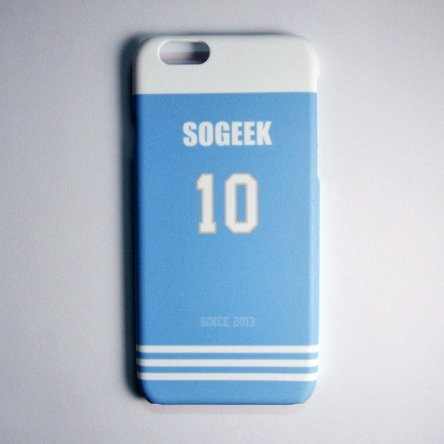SO GEEK phone shell design brand THE JERSEY GEEK jersey back number Customized paragraph 004