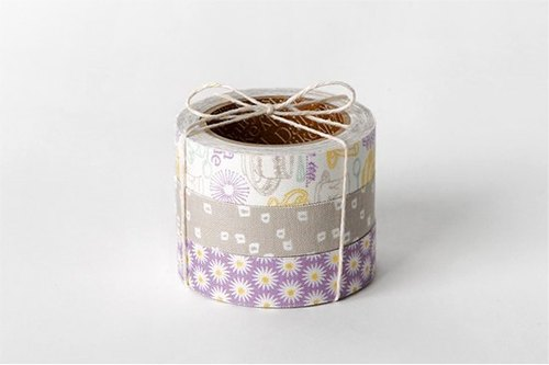 Dailylike fabric tape Nordic wind cloth tape (three into) 36 - afternoon tea time, E2D54128