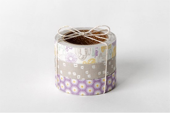 Dailylike Nordic wind tape (three into) 36 - afternoon tea time, E2D54128