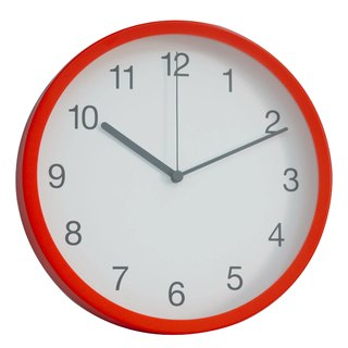 Simple - Clear Digital Clock (Plastic)