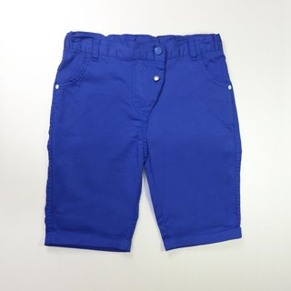Indigo bright little shorts