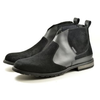 [Dogyball] Apache elastic boots Chelsea Boots is cool shoes black