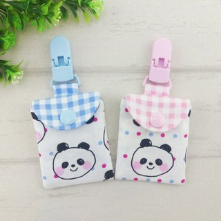 Q version Panda / Panda-2 color optional. Ping Fu bag (can increase 40 embroidered name)