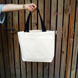 Tote bag-Black handle