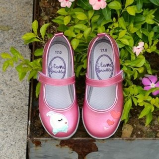 Nora sparkling powder rabbit baby shoes (zero code special, only accept the return)