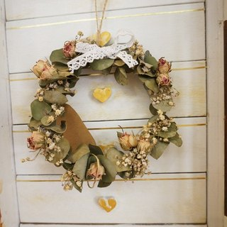 Dried wreaths - Rose