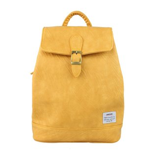 AMINAH-Yellow Fairy Tale Backpack [am-0223]