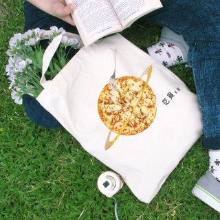 Food goods straight to heaven canvas bag