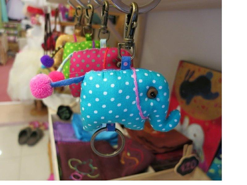 大象吊飾鑰匙圈(L)