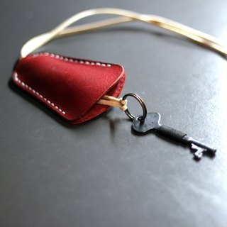 16. The hand dyed / hand-stitched leather key cover, key sets