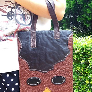 [Mania] ANITA hand-made limited x squinted boy Talk‧ textured handmade leather bag - Special