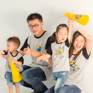 [Banana baseball team (little boy)] parent-child / children's clothing / short-sleeved T-shirt
