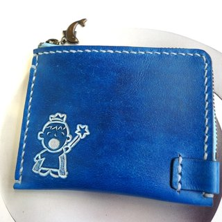 Banknote series _ made convenient purse - staining + engraving (you can specify a pattern)