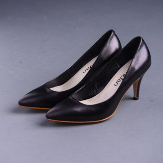 [Sports sum] micro open toe sexy pointed silent stiletto shoes _ crystal black (after 25.5)