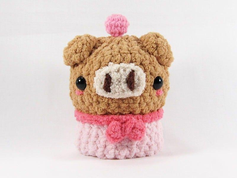 粉紅豬-鑰匙包-鑰匙套