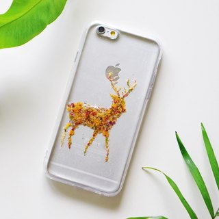 Pressed Flower Phone Cases- Deer Collection for iphone 5/5s/SE/6/6s/6 plus/6s plus/7/7plus/Samsung S4/S5/S6/S6Edge/S7/S7Edge/Note3/Note4/Note5