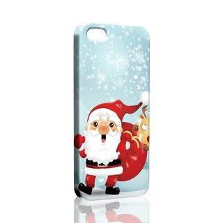 Santa Claus pattern custom Samsung S7 S8 note5 iPhone 5 5s 6 6s 6 plus 7 7 Plus 8 8 plus X ASUS HTC Sony Ericsson G5 v20 phone case phone case phone shell Christmas phonecase