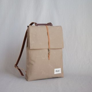|Spanish handmade | Ölend Holden canvas backpack (light brown)