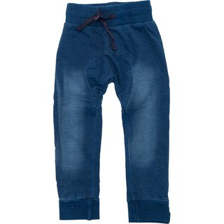 Nordic organic cotton children's clothing soft and light imitation jeans blue (for 18M-10Y)