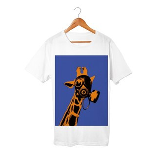 Collage Art Giraffe T-shirt