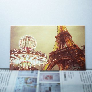 [Good] big size travel postcard